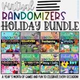 Holiday Party Games BUNDLE - Virtual Randomizer Videos | D