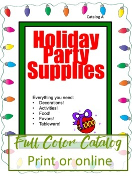 Christmas Math Activity - Party Planner Project