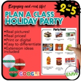 Christmas Math Activity - Party Planner Real Life Project Based Learning PBL
