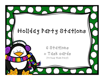 Holiday Party Stations