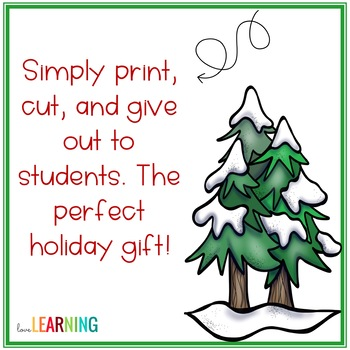 Holiday Passes for Students: Freebie