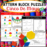 Holiday Pattern Block Mat Puzzles Cinco De Mayo