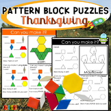 Holiday Pattern Block Mat Puzzles Thanksgiving