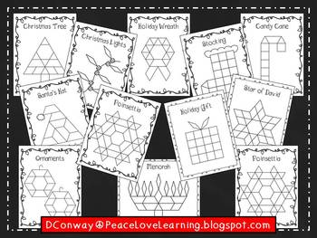 Holiday Pattern Block Pictures