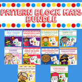 Holiday Pattern Block Mats Bundle