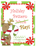 Holiday Pattern Play: Cut and Paste & Coloring Work- Ready to Print & Use!