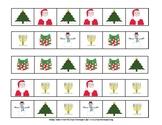 Holiday Pattern Skills for children Montessori Preschool