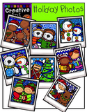 Holiday Photos {Creative Clips Digital Clipart}