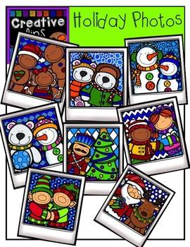 Holiday Photos {Creative Clips Digital Clipart}