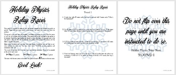 Holiday Physics Relay Races