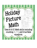 Holiday Picture Math