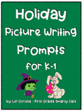 Holiday Picture Writing Prompts for K-1