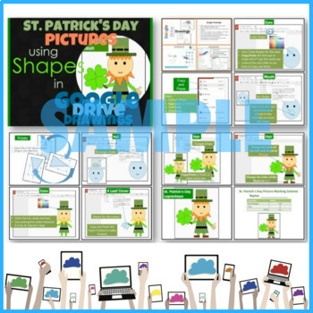 Holiday Pictures Bundle using Shapes in Google Drive