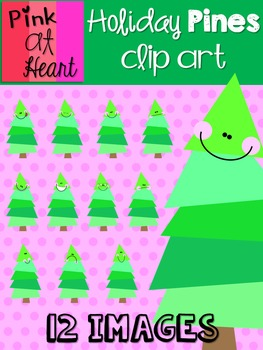 Holiday Pines Clip Art