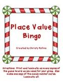 Holiday Place Value Bingo
