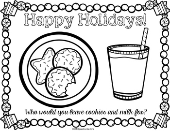 Holiday Placemats FREEBIE!
