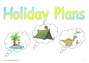 Holiday Plans Singing Story
