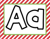 Holiday Play-doh Mats (letters & sight words)