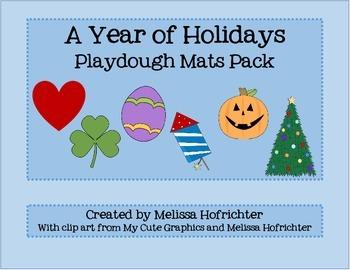 Holiday Playdough Pack