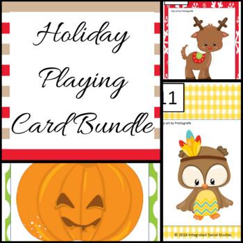 Holiday Playing Card Bundle