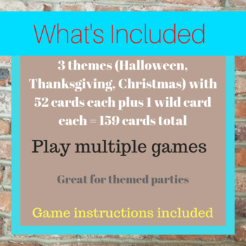 Holiday Playing Card Bundle