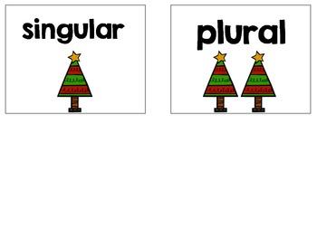 Holiday Plural Noun Practice