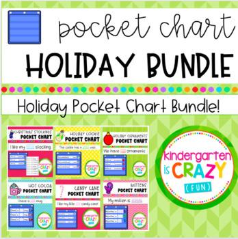 Holiday Pocket Chart Bundle