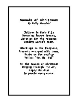 Holiday Poems