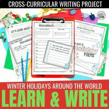 Winter Holiday Craftivity (Christmas, Kwanzaa, Diwali, Hanukkah, & More)