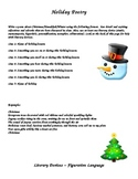 Holiday Poetry Activity