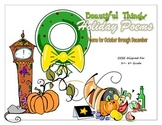 Holiday Poetry Cards