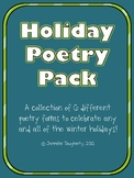 Holiday Poetry Pack!