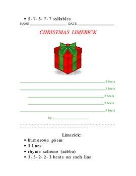Holiday Poetry Portfolio