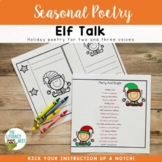 December Centers Partner Poems for Fluency Practice ~Chris