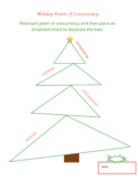 Holiday Points of Concurrency - Christmas