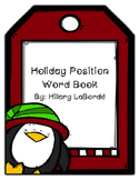 Holiday Position Words Book