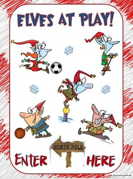 Holiday Poster: Elves at Play- Enter Here
