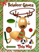 Holiday Poster: Reindeer Games- This Way!