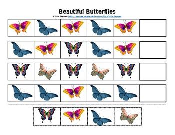 Beauiful Butterflies Pattern & Cutting