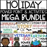 Holiday Power Point & Activities Mega Bundle