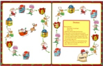Christmas Holiday Powers of Ten Task Cards