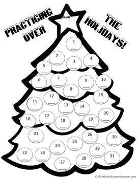 Holiday Practice Sheet
