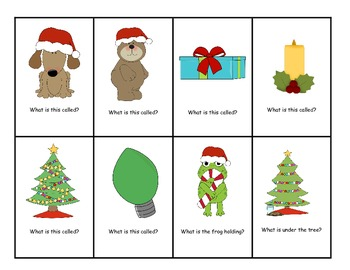 Holiday Pre-K  Wh Questions