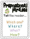 Holiday Prepositional Phrases