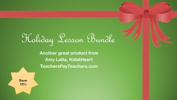 Holiday Preschool Lesson Bundle