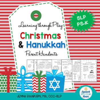 Holiday Preschool Speech and Language Packet: Learning Through Play