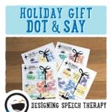 Holiday Print and Go Speech & Language Activities