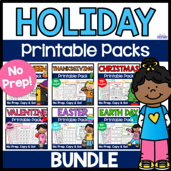 Holiday Printable Pack Bundle