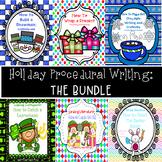 Holiday Procedural Writing: The BUNDLE