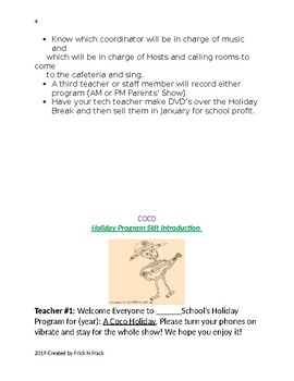 Holiday Program: Coco